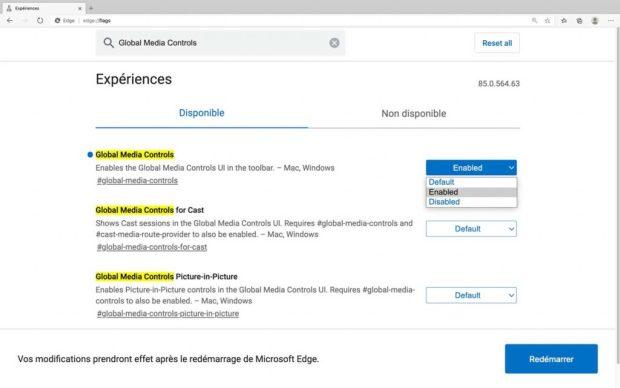 Microsoft Edge et son lecteur multimédia caché