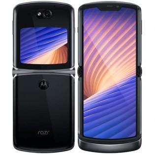Motorola Razr 5G in Polished Graphite color