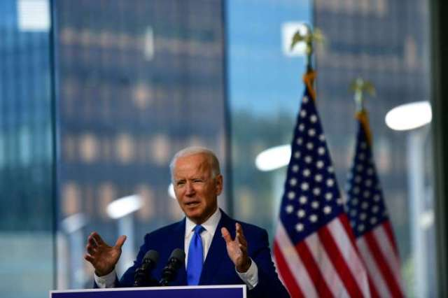 Joe Biden a prononcéun discours à Philadelphie, en Pennsylvanie, dimanche 20 septembre.