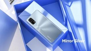 Realme 7 Pro in Mirror Silver color