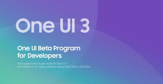 Samsung launches One UI 3.0 developer beta program for Galaxy S20