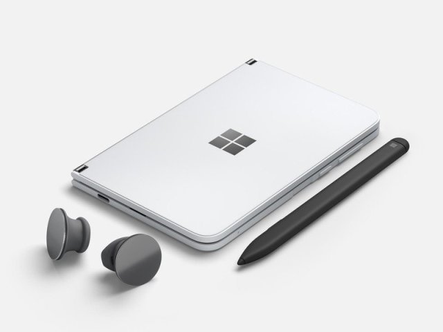 Surface Duo And Surface Earbuds