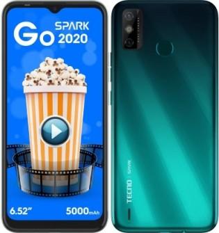 Tecno Spark Go 2020 in Ice Jadeite color