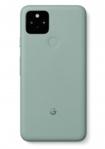 Leaked images of the Google Pixel 5 in Sage Green