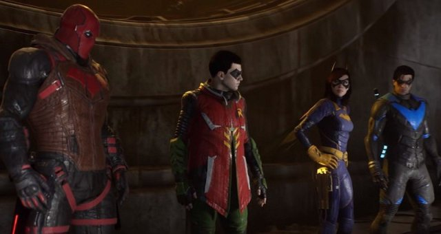 Gotham Knights Four Characters