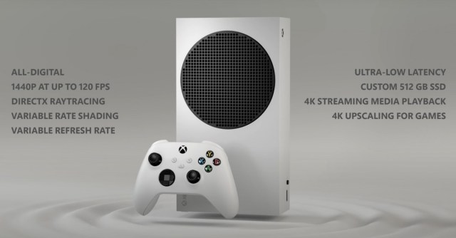 It's official: Xbox Series S is coming on November 10, will bring next-gen game play at 120 fps