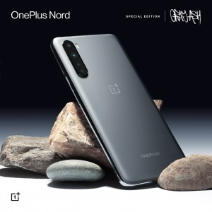 OnePlus Nord special edition in Gray Ash