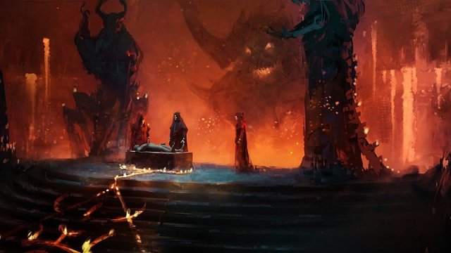 Diablo 4 June Concept Art Hell