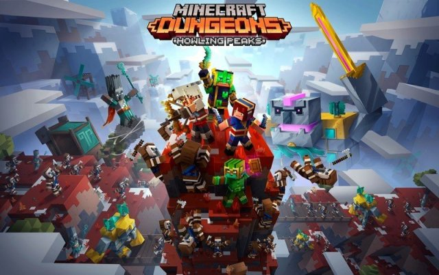 Minecraft Dungeons Dlc Howling Peaks Image