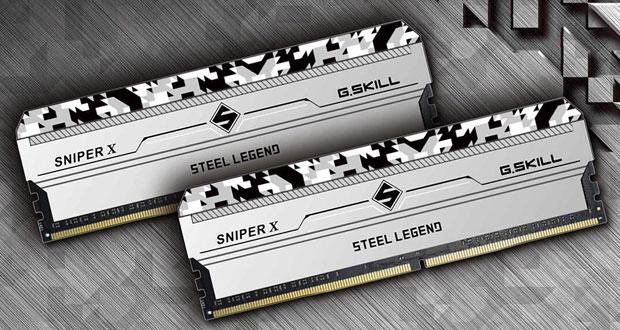 DDR4 G.Skill Sniper X Steel Legend