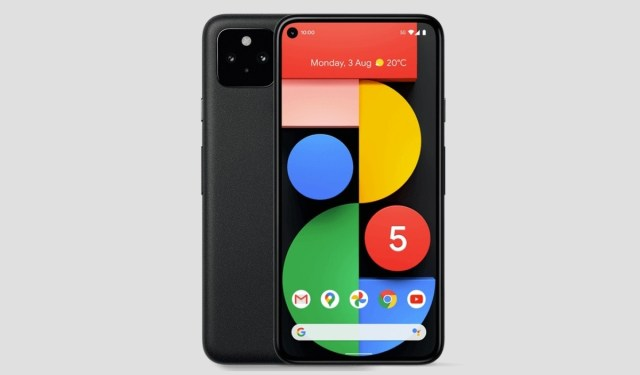 Google expects to sell only 800,000 Pixel 5 units