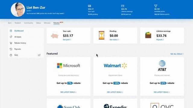 Bing Rebates