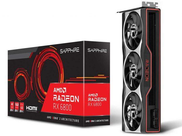 Radeon RX 6800 de Sapphire