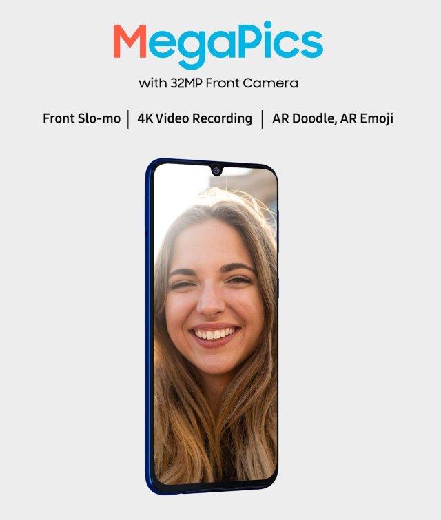 Samsung Galaxy M31 Prime Edition Selfie Camera Specs
