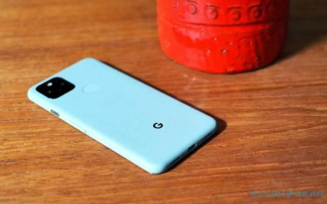 Google Pixel 5 Frame Display Issue