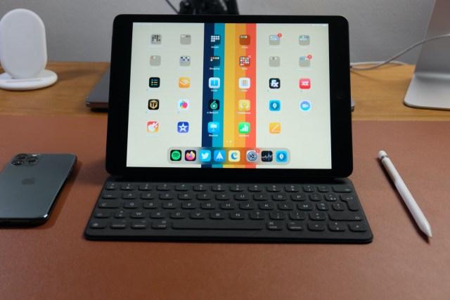 test ipad 8 clavier