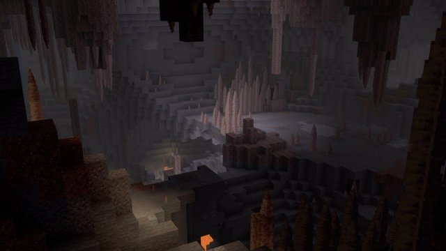 Minecraft Caves And Cliffs Update Dripstone Caves