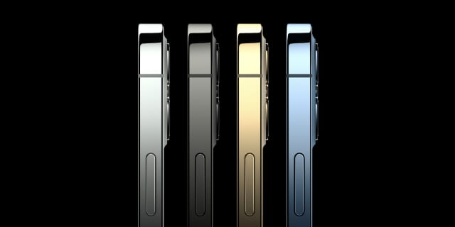 iPhone 12 Pro color options