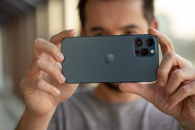 iPhone 12 Pro Max in for review