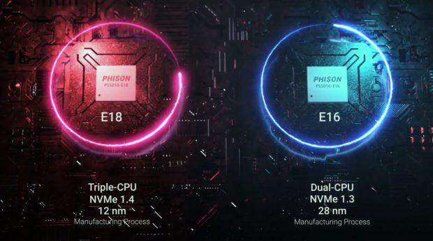 Contrôleur PS5018-E18 (E18) de Phison