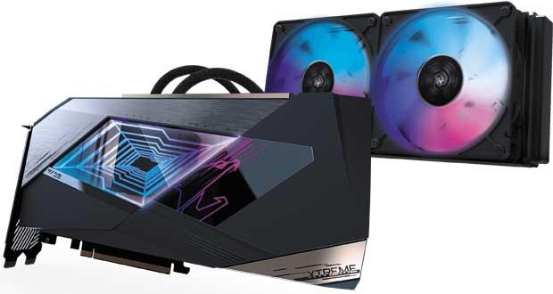 AORUS XTREME GeForce RTX 30 Series WATERFORCE