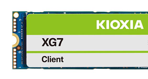 SSD NVMe PCIe 4.0 XG7/XG7-P de Kioxia