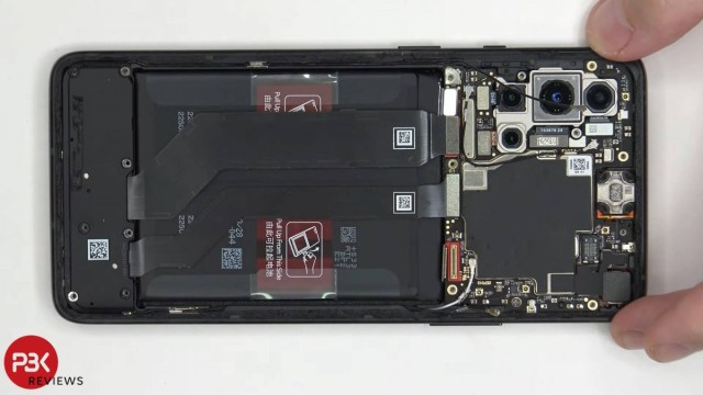 OnePlus 8T Cyberpunk 2077 tear down video shows how the sandstone back was created