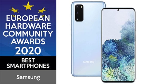 Samsung European Hardware Community Awards 2020 Best Smartphones