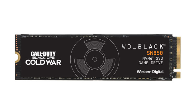 WD_BLACK Call of Duty: Black Ops Cold War Special Edition SN850 NVMe SSD