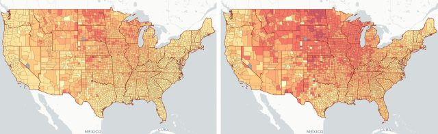 maps of US