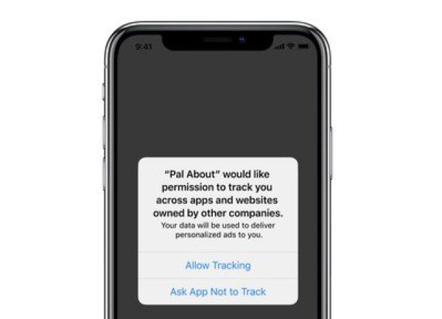 ios 14 tracking permission prompt