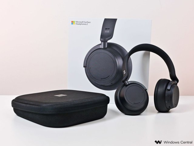 Surface Headphones 2 Black
