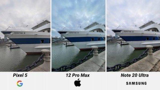 iphone 12 pro max camera comparison blue