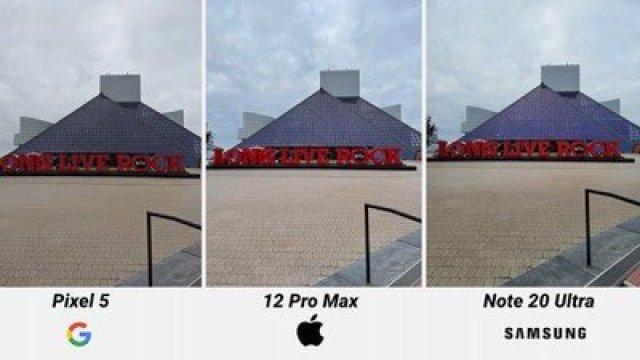 iphone 12 pro camera comparison sky