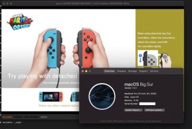nintendo switch on mac
