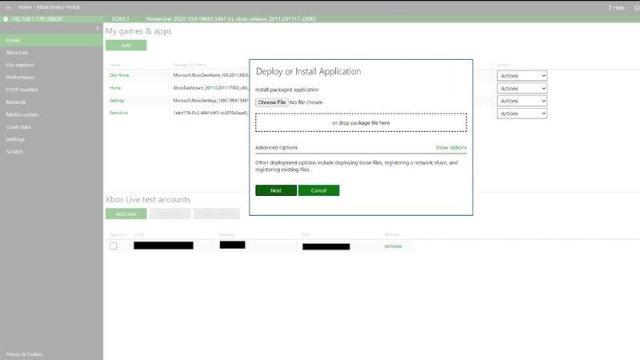 Xbox My Games Upload