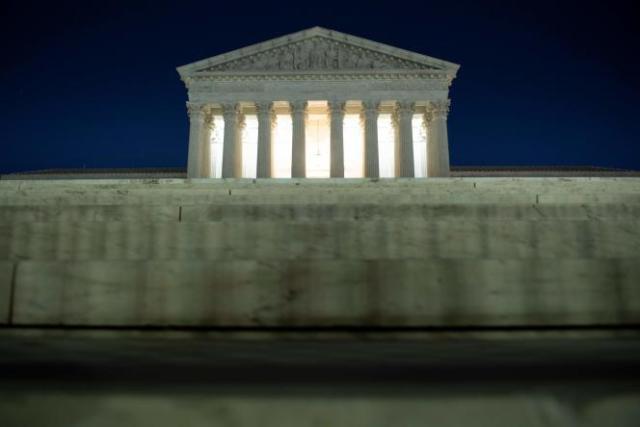 La Cour suprême américaine à Washington, DC, le 9 novembre.