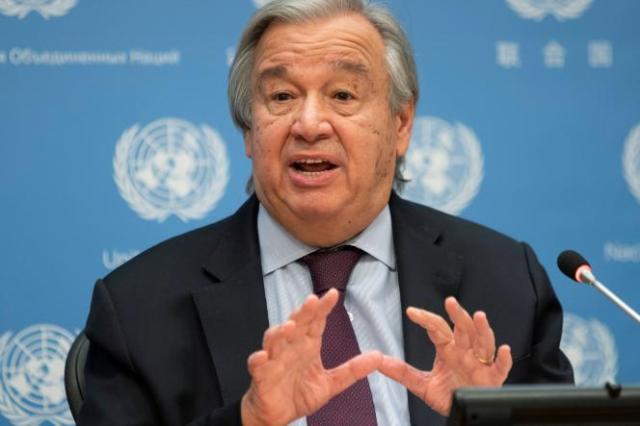 Les engagements de réduction d'émissions de gaz à effet de serre (GES) pris par les pays «n'étaient pas suffisants» et «n'ont pas été respectés», a souligné Antonio Guterres, le secrétaire général des Nations unies.