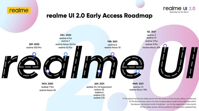Realme X50 Pro 5G gets Android 11-based Realme UI 2.0 stable update