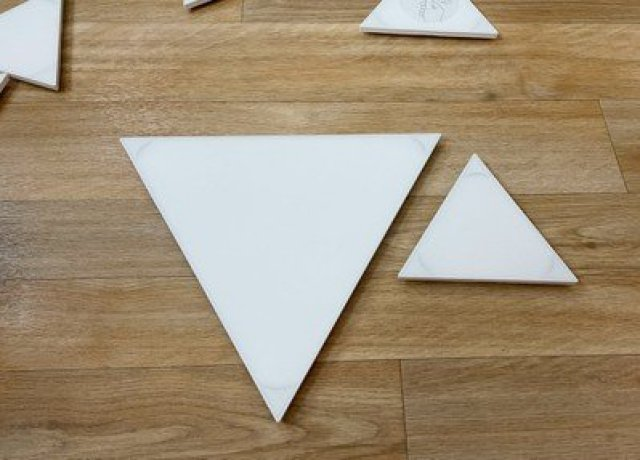 nanoleaf triangles sizes