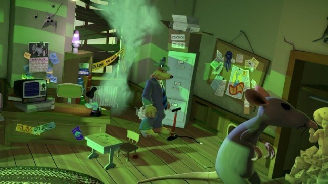 Sam And Max Office