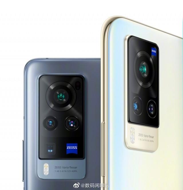 vivo X60 Pro (left) and X60 (right)
