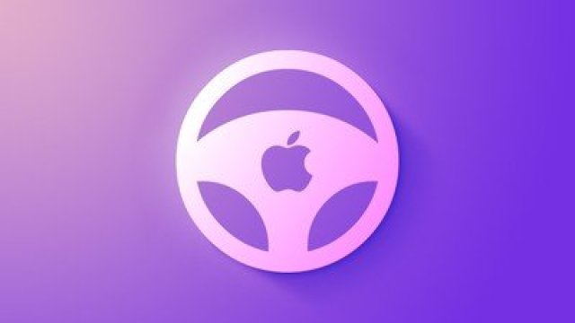 Apple car wheel icon feature purple