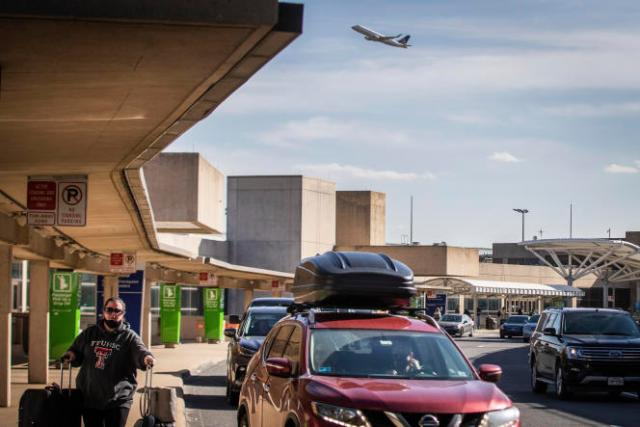 A l'aéroport international de Dallas-Fort Worth au Texas, le 23 décembre.