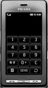 A stylish monochrome interface