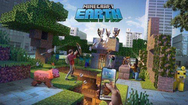 Minecraft Earth Hero Image