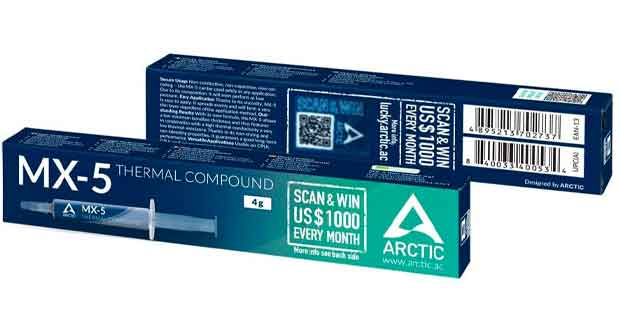 Pate Thermique MX-5 d'Artic