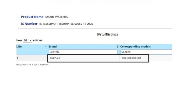 OnePlus watch gets certified, launch imminent