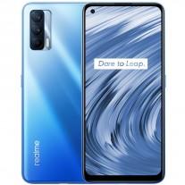 Realme V15 5G in Mirror Lake Blue color
