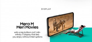 The Samsung Galaxy M02 will have a 6.5\
